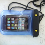 Meritline waterproof bag for iPHone mp3 droid