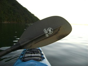 Werner Ikelos carbon fiber bent shaft kayak paddle review