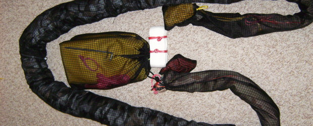 "Making DIY ""skins"" for your camping hammock or tarp is an easy project that can be done with very basic sewing skills."
