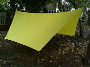 How to make a DIY Camping Hammock Tarp: MYOG 1