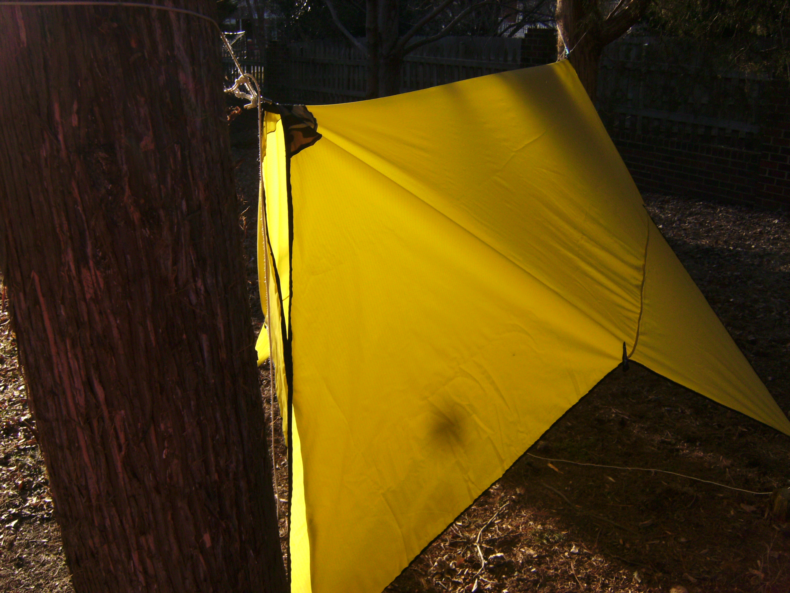 how to make an easy diy camping hammock tarp  myog 13 how to make a diy camping hammock tarp  myog  rh   gear report