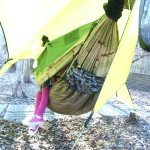 How to make a DIY Insultex (IX) camping hammock underquilt: MYOG