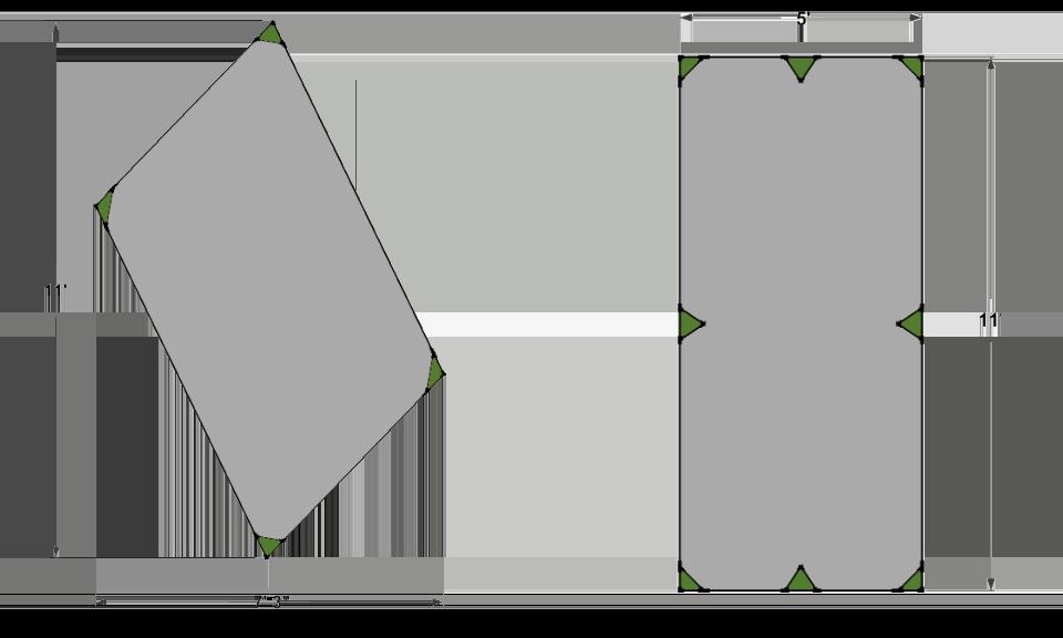 how to make a diy asymmetrical hammock camping tarp  myog bd fair weather friend  how to make a diy asymmetrical hammock camping tarp  myog  rh   gear report