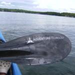 Adventure Technology Exodus Superlight Carbon fiber bent shaft kayak paddle review (19)