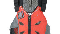 What is different about the Astral V Eight kayak life jacket is the variety of features designed to help the wearer stay cool.
