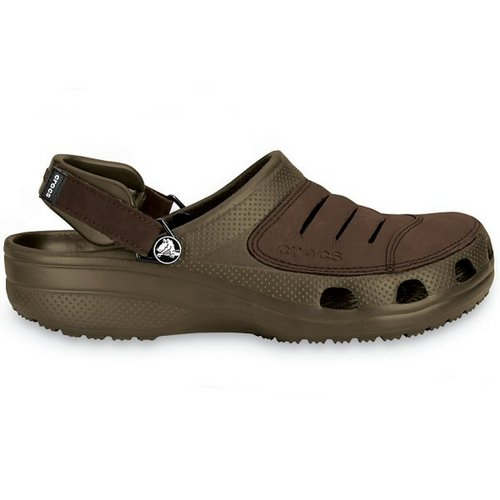 crocs yukon chocolate sandles clogs
