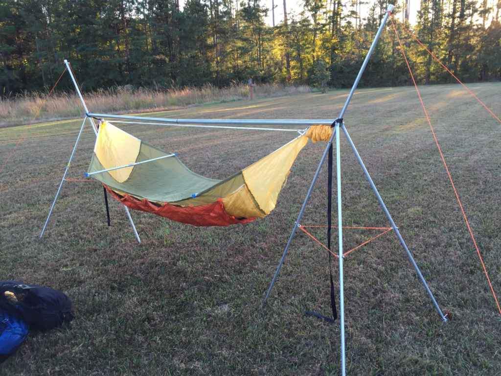 How To Make A Diy Portable Hammock Stand