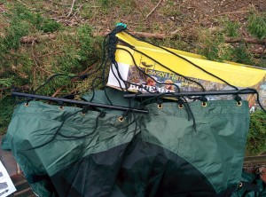 Lawson Hammock Blue Ridge Camping Hammock Review spreaders assembling