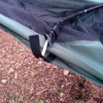 Lawson Hammock Blue Ridge Camping Hammock Review arch one side