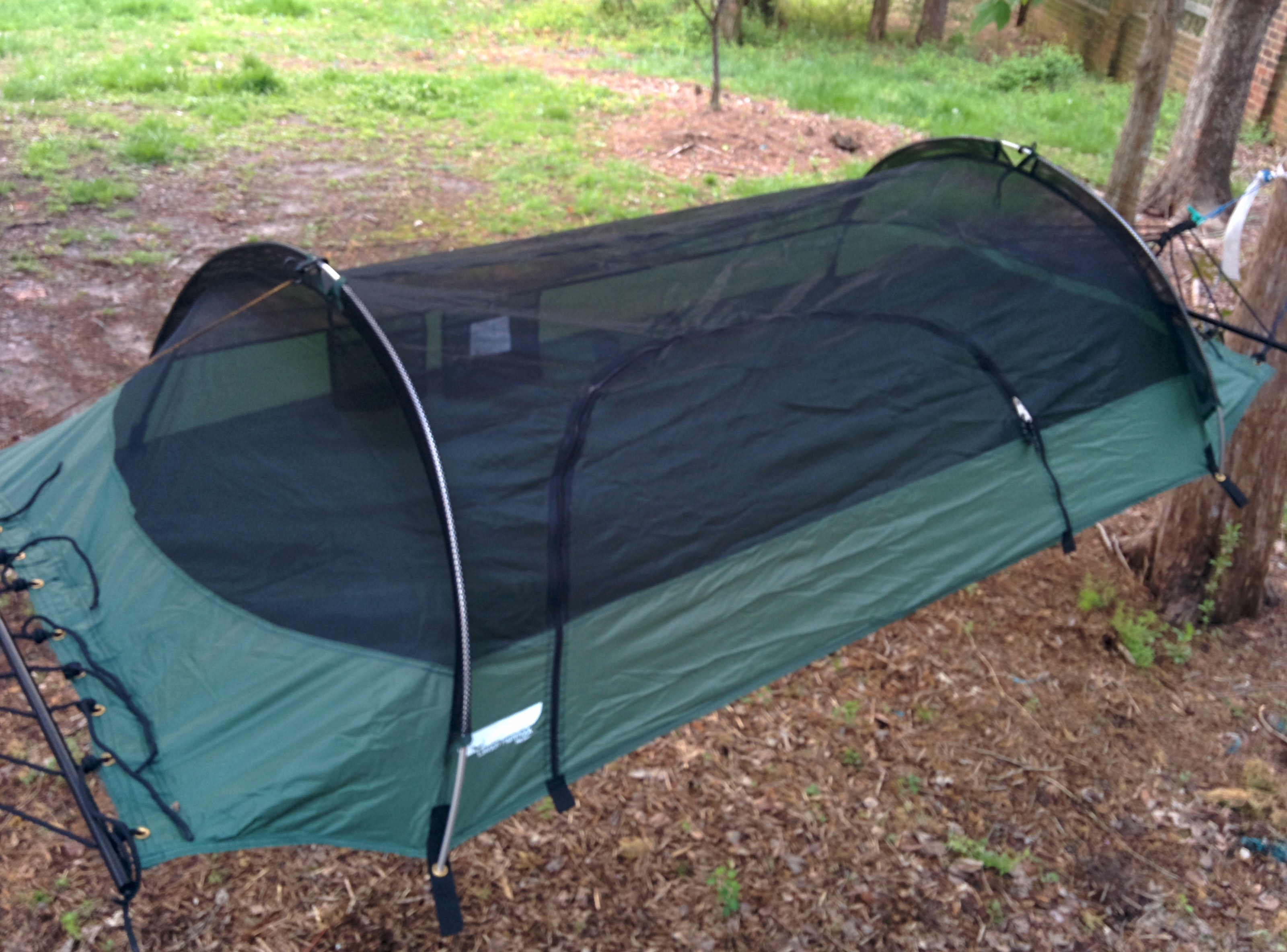 how to setup a lawson blue ridge camping hammock  rh   gear report
