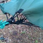 Lawson Hammock Blue Ridge Camping Hammock Review tarp attached