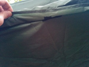 Lawson Hammock Blue Ridge Camping Hammock Review tarp velcro attached