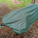 Lawson Hammock Blue Ridge Camping Hammock Review tarp velcro attached top
