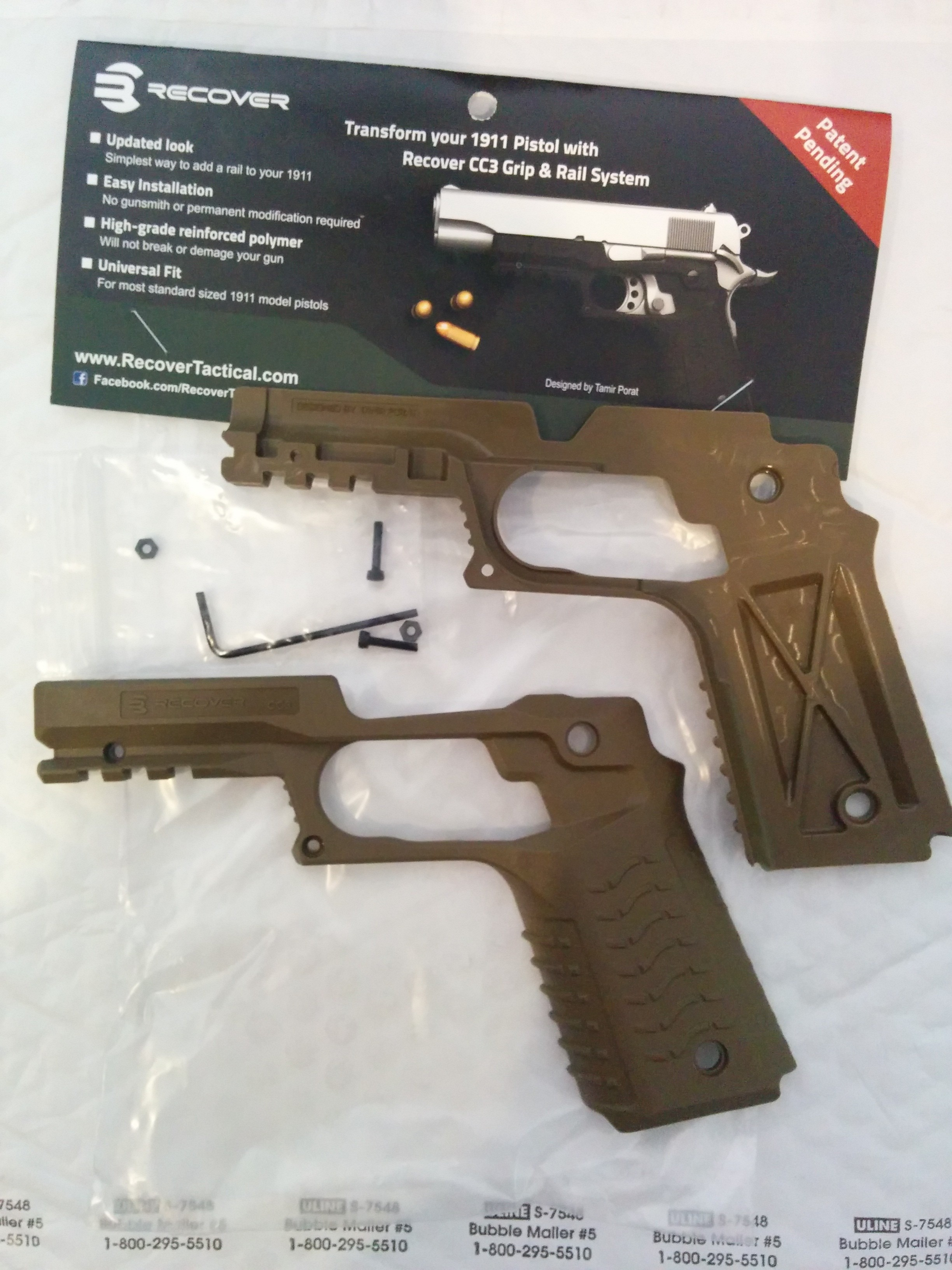Review: Recover Tactical - Recover 1911 Grip & Rail System