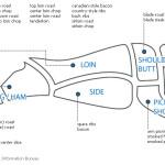Hog Hunting - Hog Meat Cuts, butcher a hog simple diagram