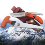 Outdoor Edge SZP-1 SwingBlaze-Pak Rotating 2-Blade Knife/Saw Combo