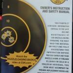 muzzle loader deer rifle CVA - manual