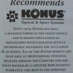 muzzle loader deer rifle CVA - Konus scope manual