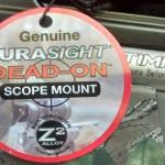 muzzle loader deer rifle CVA - durasight card