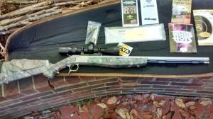 muzzle loader deer rifle CVA - kit