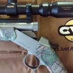 muzzle loader deer rifle CVA - break action
