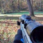 muzzle loader deer rifle CVA Optima V2 - Sighting at 100 yards