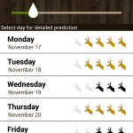 best free smartphone apps for hunting - Hunt Predictor