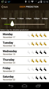 best free smartphone apps for hunting - Hunt Predictor 2
