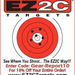 EZ2C shooting targets coupon