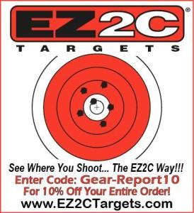 EZ2C shooting targets coupon