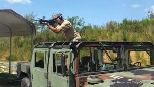 Quarter Horse Arms - machine gun from HMMWV