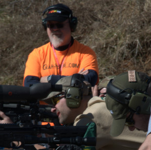 Bob as Range officer for AR15 AR10 trigger upgrade review