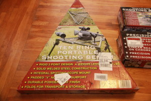 Hyskore Ten Ring Portable Shooting Bench triangle box