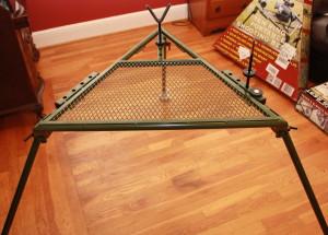 Hyskore Ten Ring Portable Shooting Bench set up