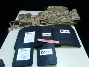 AR500armor.com level III body armor with condor operator plate carrier