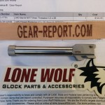 Lone Wolf Distributors Glock barrel upgrade out of package