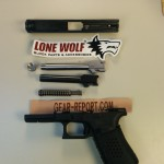 Lone Wolf Distributors Glock barrel upgrade both barrels removed + thread protector