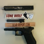 Lone Wolf Distributors Glock barrel upgrade LWD barrel installed + thread protector + spring installed