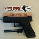 Lone Wolf Distributors Glock barrel upgrade LWD barrel installed + thread protector installed 1