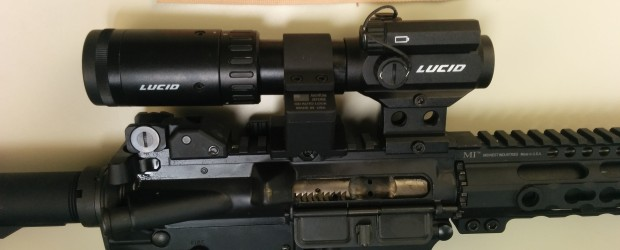 Lucid M7 Micro Dot Optic + 2-5 Magnifier On Swing Out Base – Review Video Lucid Optics sent us a box full-0-goodies to review, which includes the: Lucid M-7 Micro […]