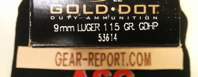 In this video we share the published data on Speer LE Gold Dot Duty Ammunition 53614 115gr 9mm Hollow Point and start some initial range testing for functionality in the Glock 17 […]