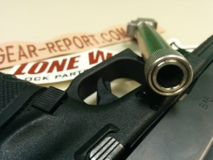 Lone Wolf Distributors Glock barrel upgrade LWD barrel target crown