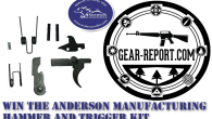 Follow the directions in the entry form below to enter the contest to win a free Anderson Manufacturing AM Hammer and Trigger Kit
