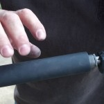 Lone Wolf Distributors Glock barrel upgrade LWD barrel installed + Yankee Hill Machine silencer