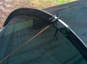 Blue Ridge Camping Hammock - bug net
