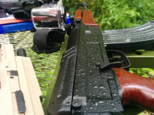 Century Arms VZ2008 after shooting in the rain