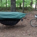 Lawson Blue Ridge Camping Hammock - bike camping