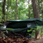 Blue Ridge Camping Hammock - door open