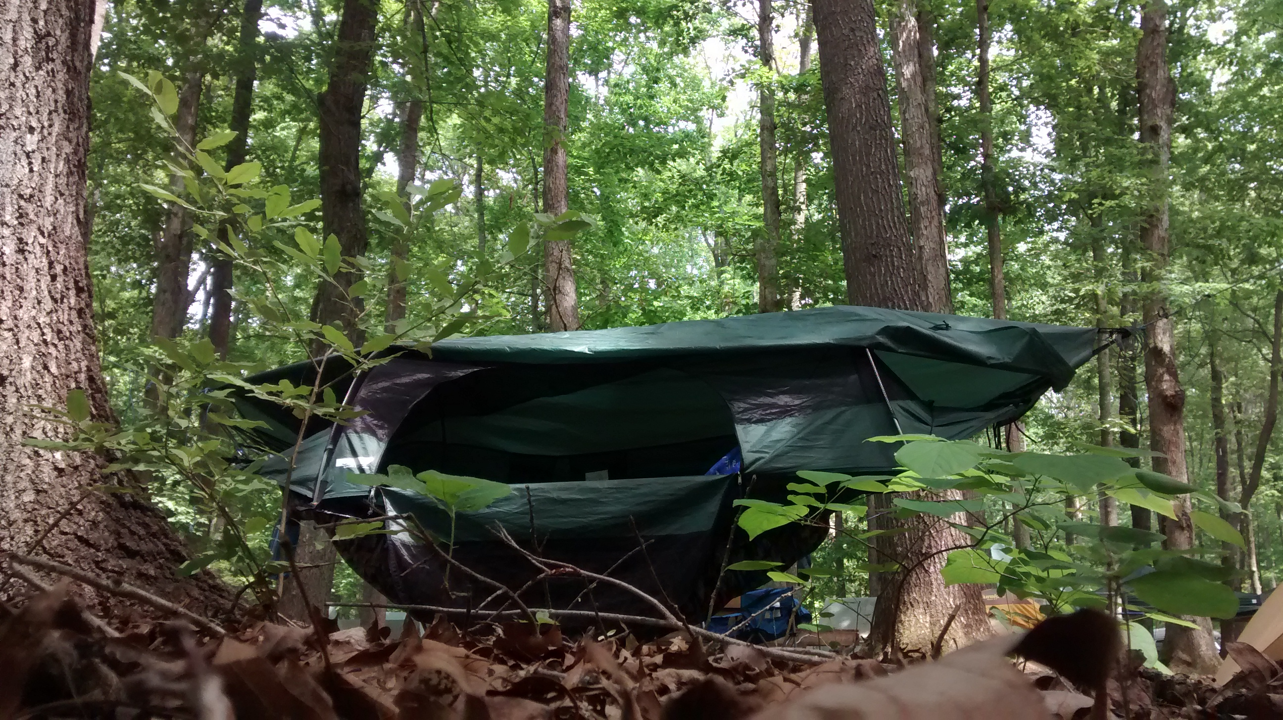 Blue Ridge C&ing Hammock - door open & Lawson Hammock Blue Ridge Camping Hammock Long Term Review