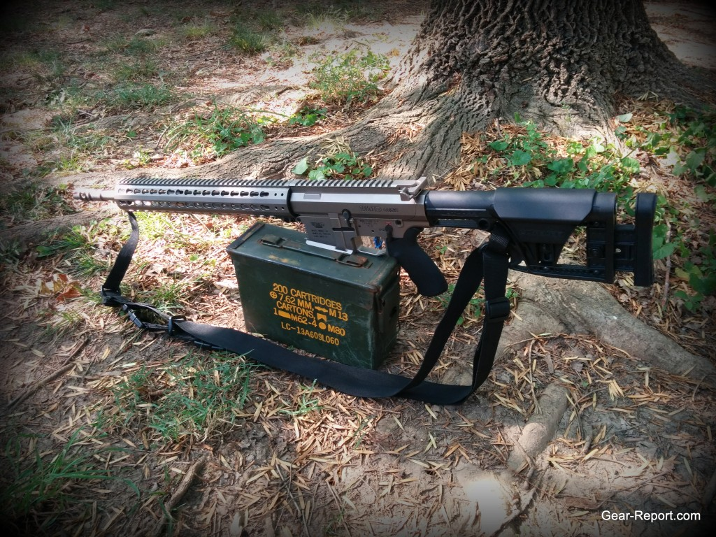 Hiperfire Hipertouch TH24 tarheel 24 trigger upgrade - in the WMD Guns Big Beast AR10 .308 on ammo can